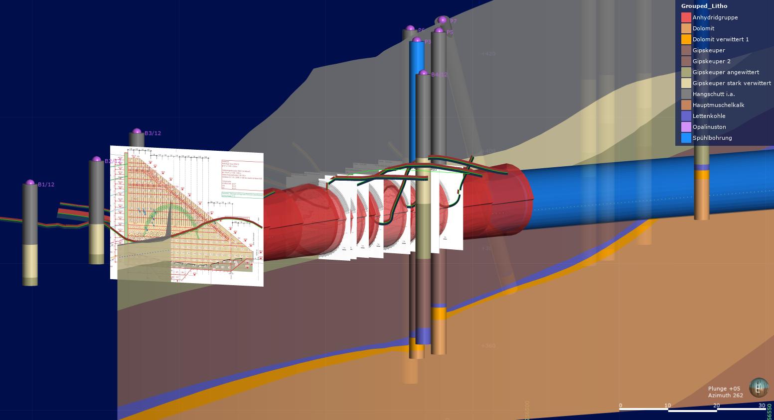 BIM 3D-Modelle mit Geodaten bewähren sich in der Praxis